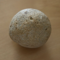 Stone (Old cannon ball?)
