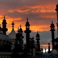 Brighton Pavilion Outlines