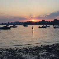 Sunset at Mudeford