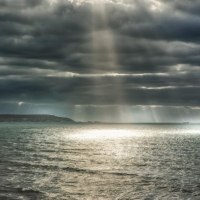 Crepuscular  light rays